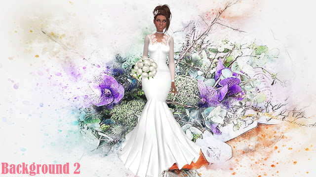 Sims 4 Wedding CAS Backgrounds at Annett's Sims 4 Welt