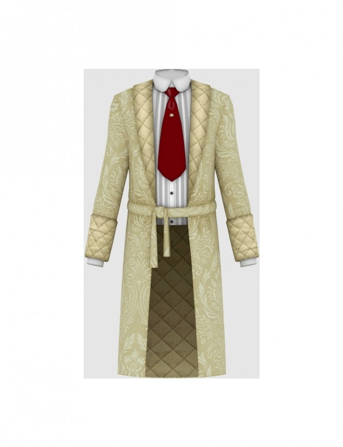 Vintage Gentleman Robe at Happy Life Sims image 173 p5 670x871 Sims 4 Updates