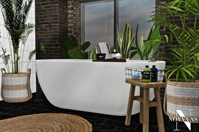 MXIMS NOVVVAS BOO BATHROOM SET COLLABORATION at Novvvas image 1743 Sims 4 Updates