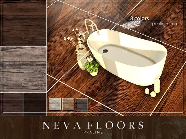 Sims 4 NEVA Floors by Pralinesims at TSR