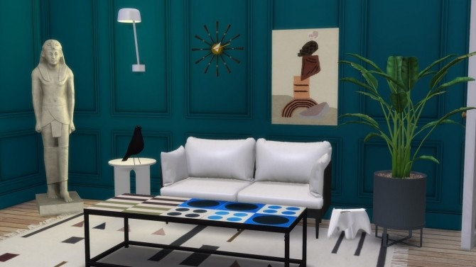 TUFTED WALL DECO RUG at Meinkatz Creations image 1756 670x377 Sims 4 Updates