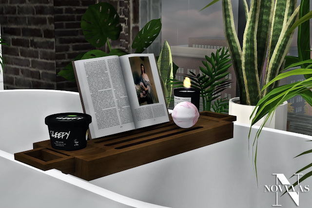 MXIMS NOVVVAS BOO BATHROOM SET COLLABORATION at Novvvas image 1792 Sims 4 Updates