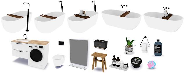 MXIMS NOVVVAS BOO BATHROOM SET COLLABORATION at Novvvas image 1818 Sims 4 Updates