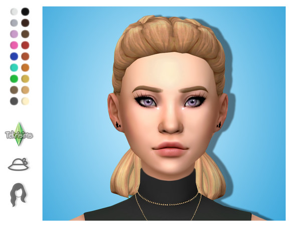 Sims 4 Katie hair all ages by TekriSims at TSR