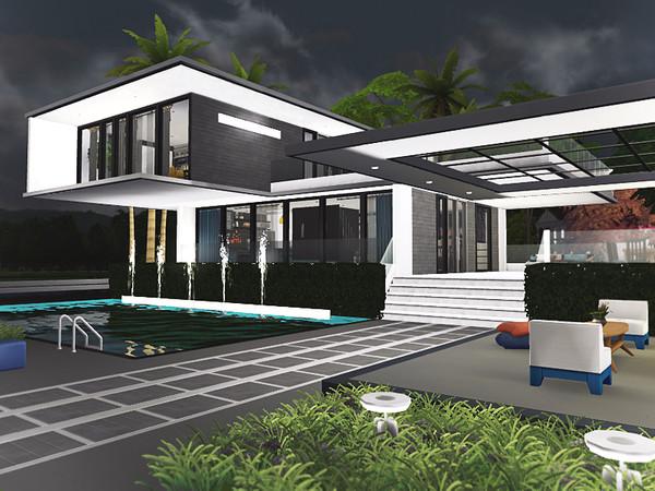 Sandeep house by Rirann at TSR image 1839 Sims 4 Updates