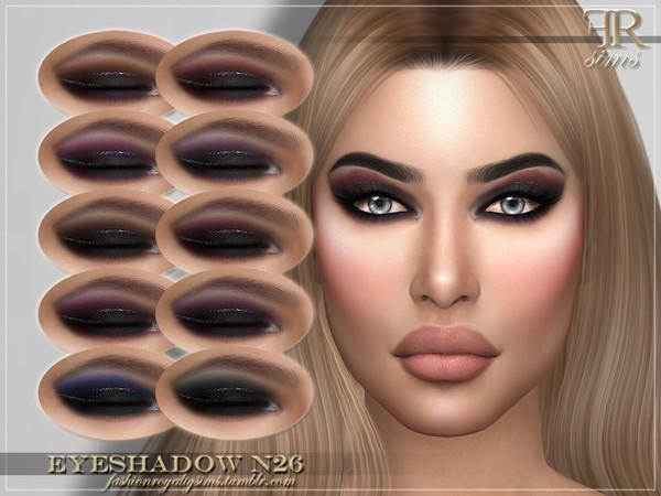 FRS Eyeshadow N26 by FashionRoyaltySims at TSR image 1850 Sims 4 Updates