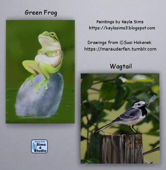 Susi Hokenek paintings at Keyla Sims image 1886 670x687 Sims 4 Updates