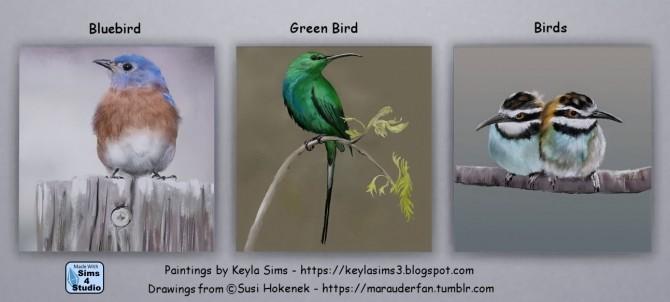 Susi Hokenek paintings at Keyla Sims image 1896 670x302 Sims 4 Updates