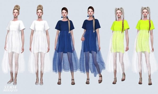 Sims 4 Love Mesh Long Dress (P) at Marigold