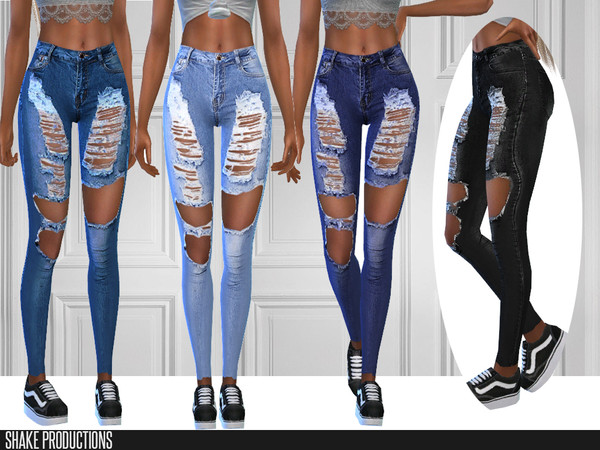 285 Jeans by Shake Productions at TSR image 1947 Sims 4 Updates