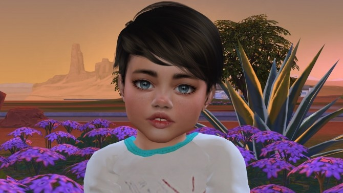 Sims 4 Little Lorenzo by Elena at Sims World by Denver