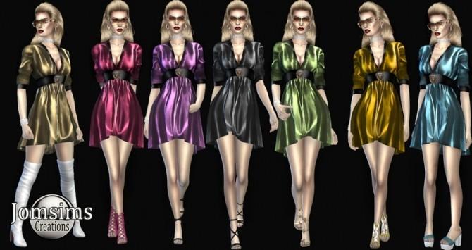 Sims 4 Aldigianno dress at Jomsims Creations