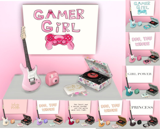 Sims 4 Girly Clutter at pqSims4