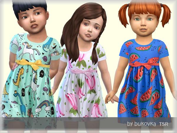 Summer Dress by bukovka at TSR image 2028 Sims 4 Updates