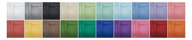 Sims 4 Linen half sleeve shirt 20 colors at Rusty Nail