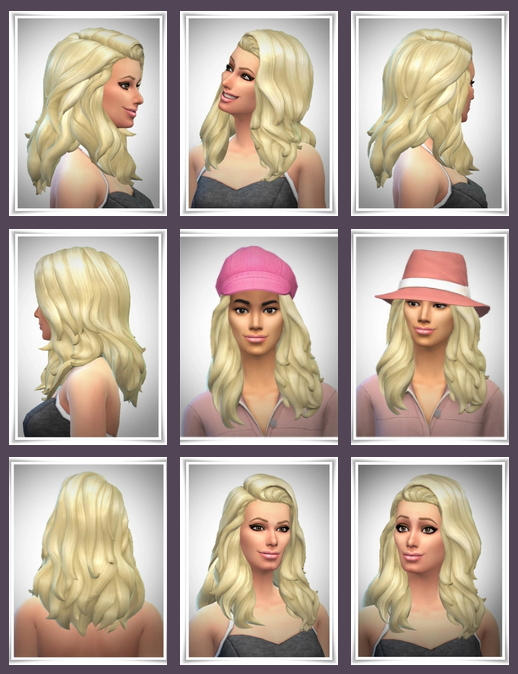 Sims 4 Catherine Hair at Birksches Sims Blog