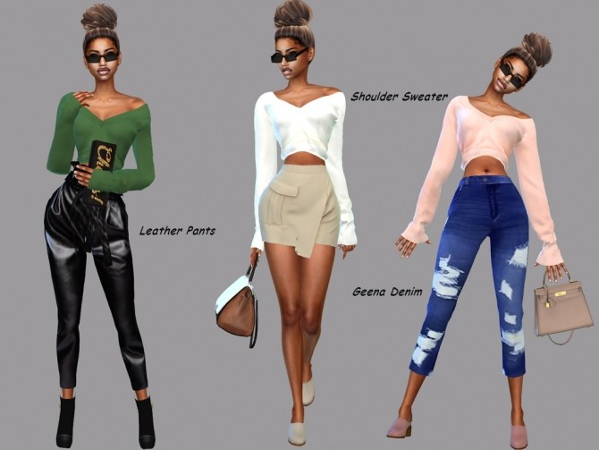Sims 4 Girls Set at Teenageeaglerunner