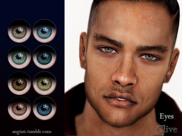 Sims 4 Clive eyes by ANGISSI at TSR
