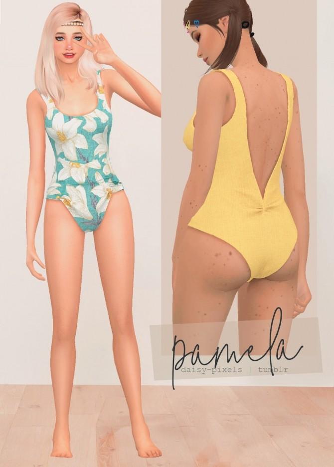 Pamela Swimsuit at Daisy Pixels image 2141 670x937 Sims 4 Updates