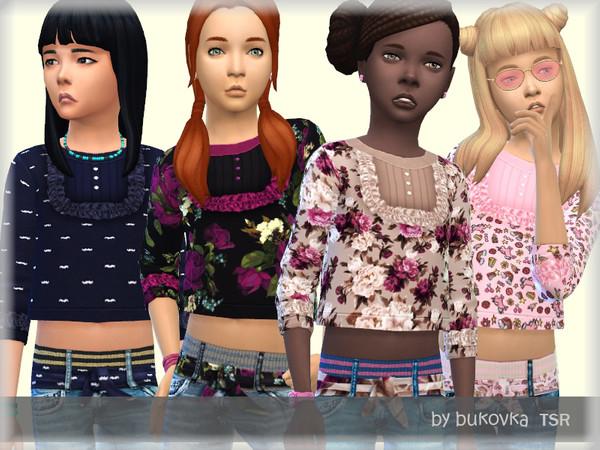 Crop Top by bukovka at TSR image 2149 Sims 4 Updates