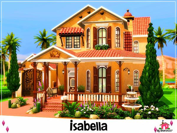 Isabella house by sharon337 at TSR image 2159 Sims 4 Updates