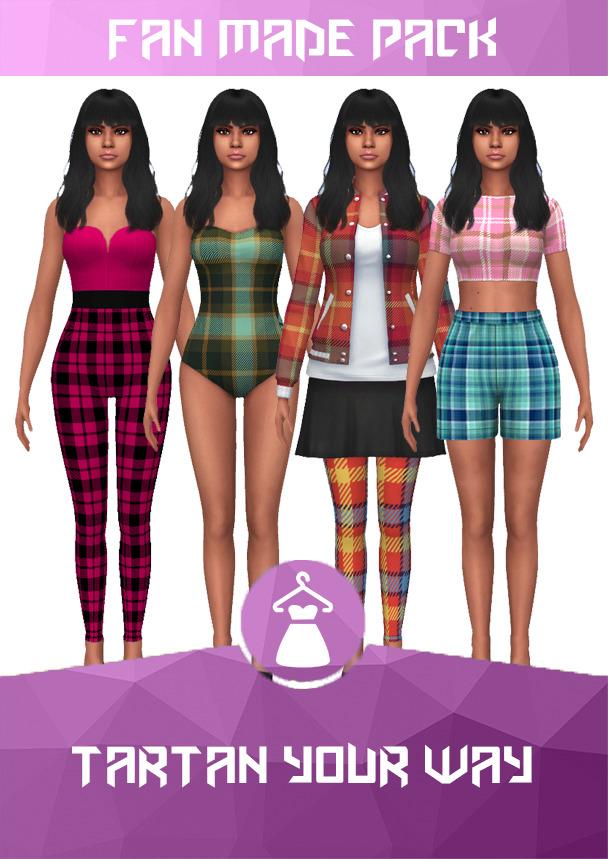 Tartan your way set at Heartfall image 2173 Sims 4 Updates
