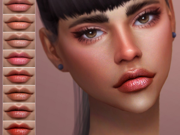 Haunt lip colour by Screaming Mustard at TSR image 2222 Sims 4 Updates