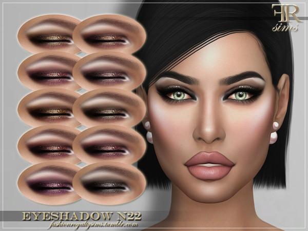 FRS Eyeshadow N22 by FashionRoyaltySims at TSR image 2223 Sims 4 Updates
