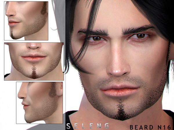Beard N16 by Seleng at TSR image 2230 Sims 4 Updates