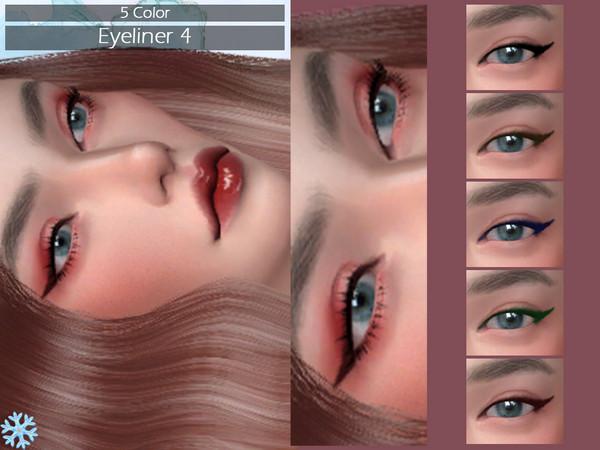 Sims 4 LMCS Eyeliner 5 by Lisaminicatsims at TSR
