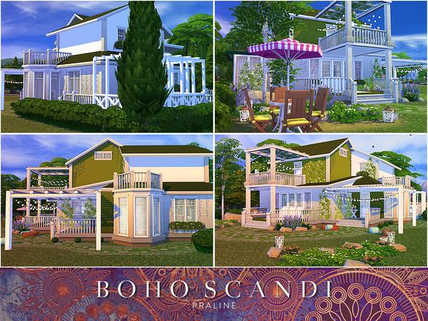 Boho Scandi house by Pralinesims at TSR image 2314 Sims 4 Updates