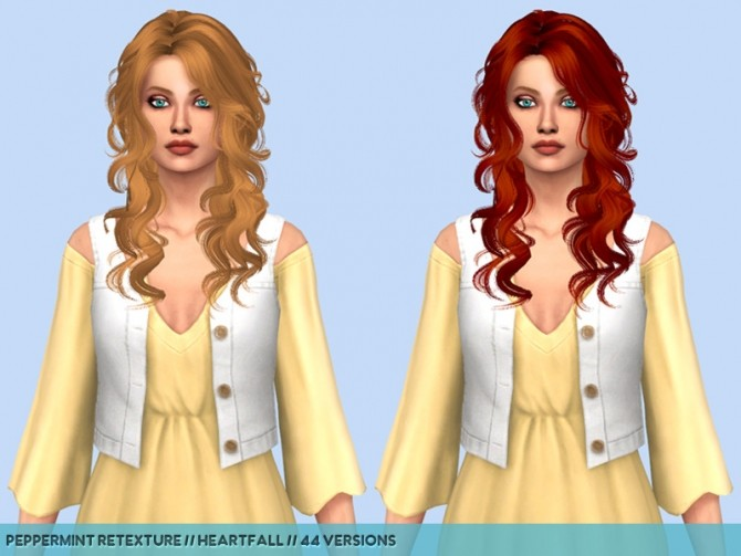 Newseas hair retextures at Heartfall image 232 670x503 Sims 4 Updates