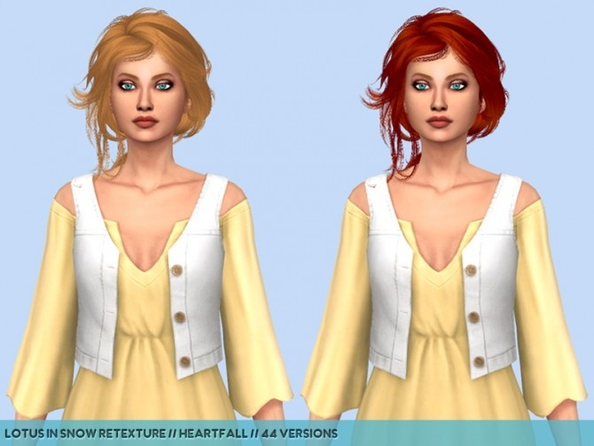 Newseas hair retextures at Heartfall image 233 670x503 Sims 4 Updates