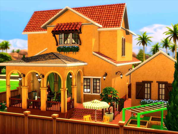 Isabella house by sharon337 at TSR image 2332 Sims 4 Updates