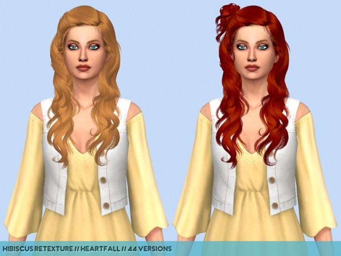 Newseas hair retextures at Heartfall image 236 670x503 Sims 4 Updates