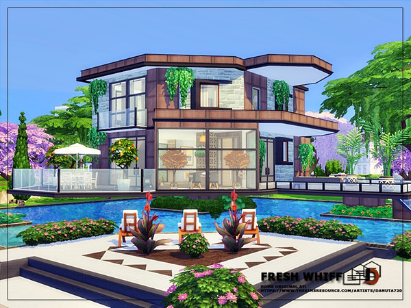 Fresh whiff house by Danuta720 at TSR image 2426 Sims 4 Updates