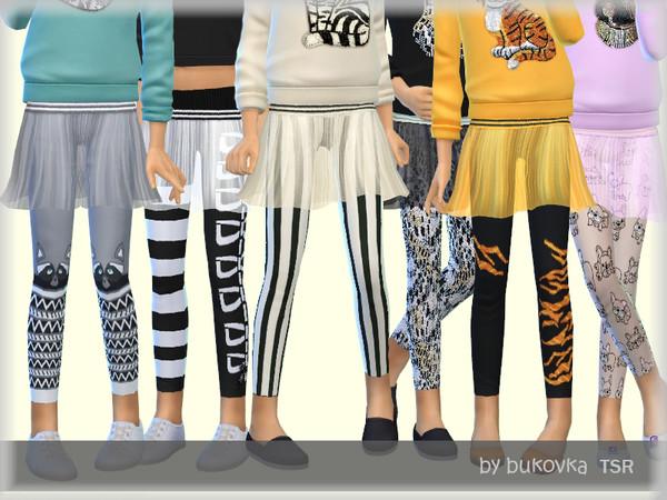 Sims 4 Transparent Skirt by bukovka at TSR