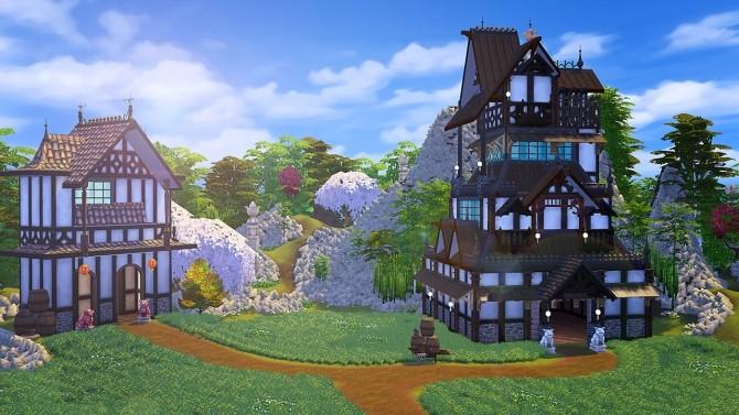 Sims 4 Asian Castle at Akai Sims – kaibellvert
