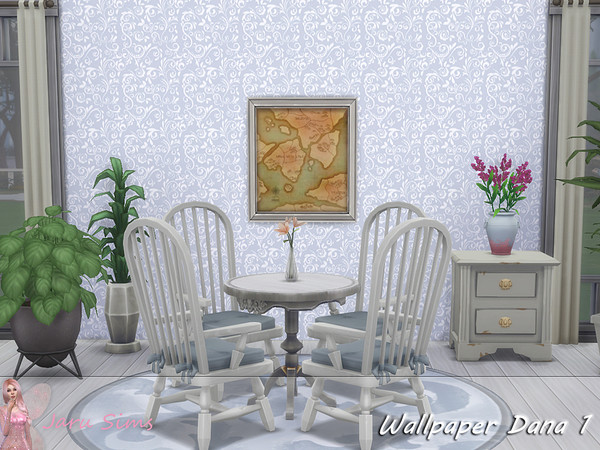 Wallpaper Dana 1 by Jaru Sims at TSR image 251 Sims 4 Updates