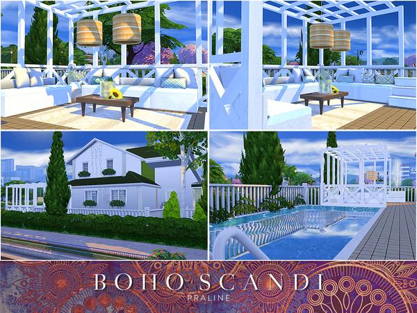 Boho Scandi house by Pralinesims at TSR image 2513 Sims 4 Updates
