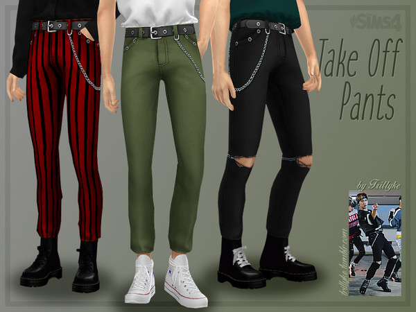 Take Off Pants by Trillyke at TSR image 2520 Sims 4 Updates