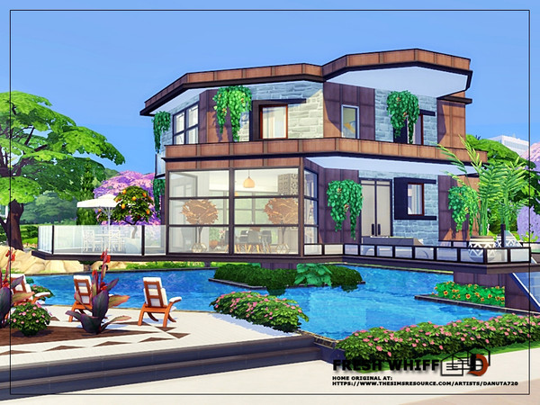 Fresh whiff house by Danuta720 at TSR image 2525 Sims 4 Updates