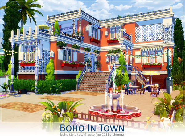 Boho In Town by Lhonna at TSR image 2531 Sims 4 Updates