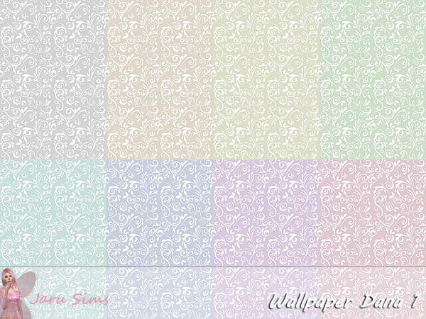 Wallpaper Dana 1 by Jaru Sims at TSR image 261 Sims 4 Updates