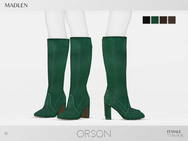Madlen Orson Boots by MJ95 at TSR image 2613 Sims 4 Updates