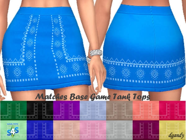 Sims 4 Skirt 201905 02 by dgandy at TSR