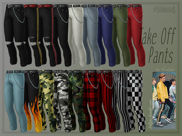 Take Off Pants by Trillyke at TSR image 2620 Sims 4 Updates