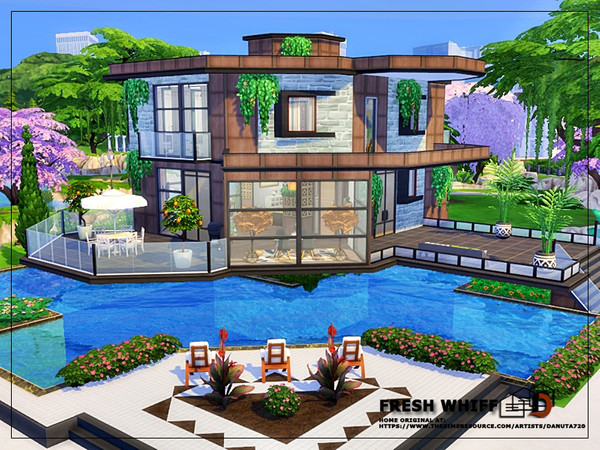 Fresh whiff house by Danuta720 at TSR image 2625 Sims 4 Updates