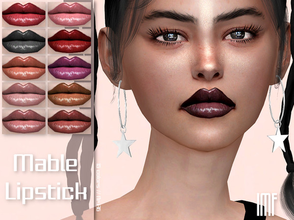 IMF Mable Lipstick N.176 by IzzieMcFire at TSR image 2720 Sims 4 Updates