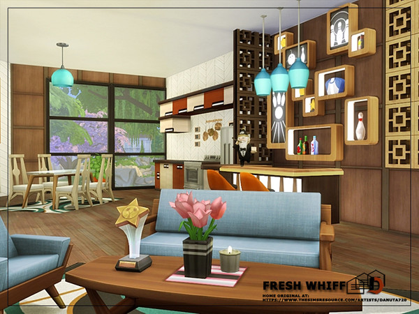 Fresh whiff house by Danuta720 at TSR image 2726 Sims 4 Updates